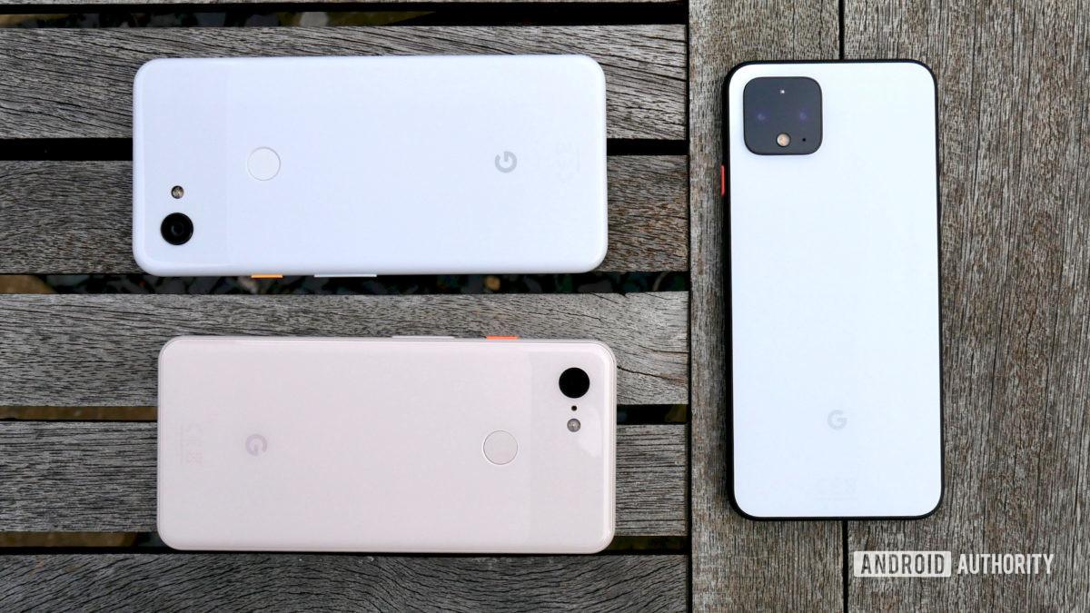 google pixel 4 vs pixel 3 vs pixel 3a 10