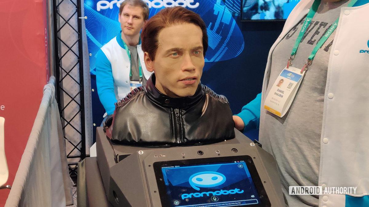 CES 2020 Promobot Terminator