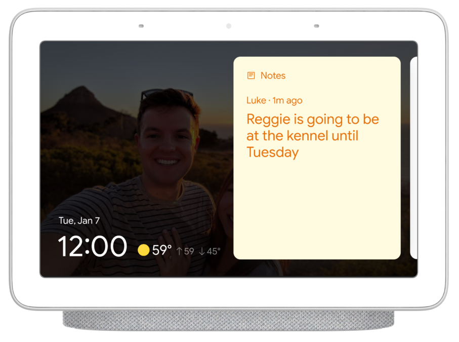 Google Nest Hub sticky notes 2