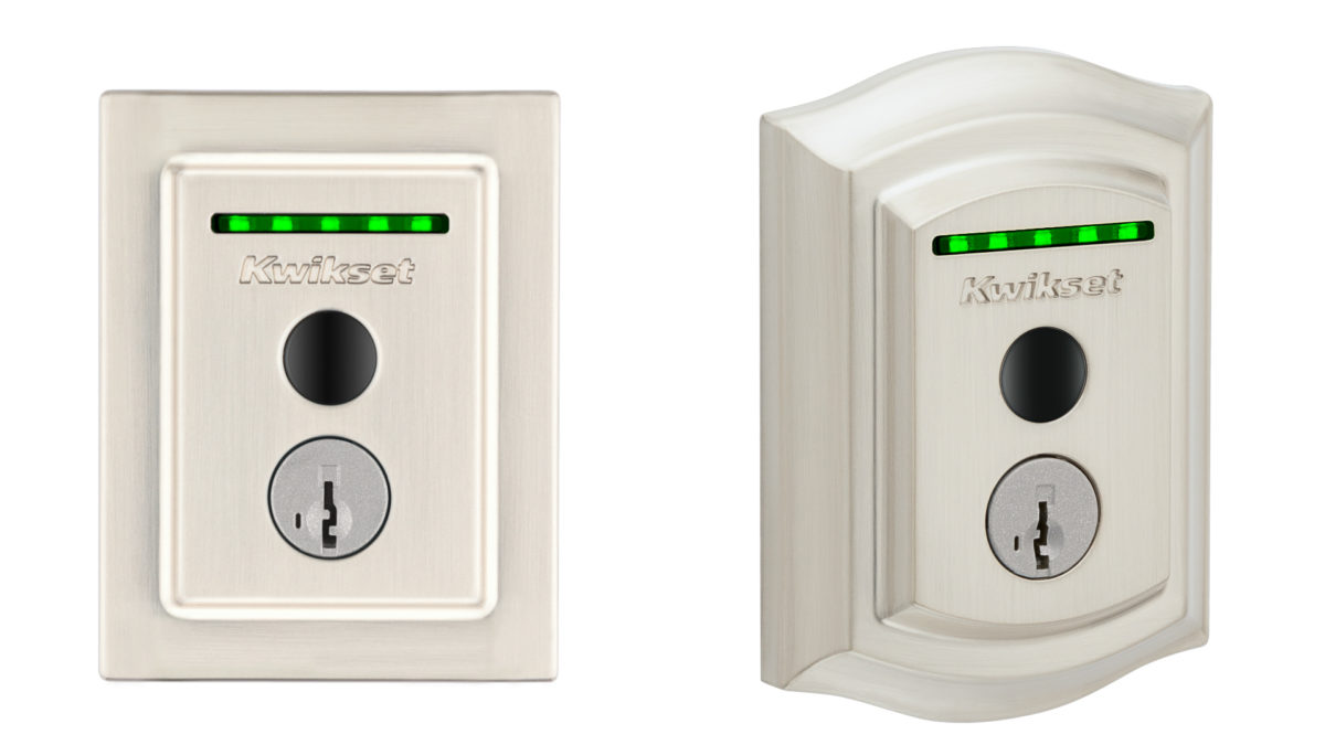 Kwikset Halo Touch smart lock traditional classic variants