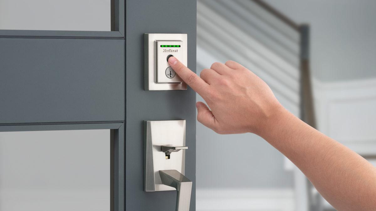 Kwikset Halo Touch smart lock CES 2020