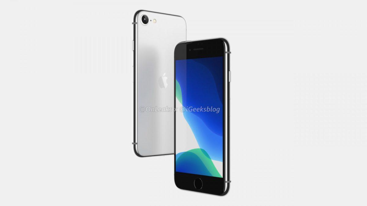 iPhone SE 2 leaked renders 2