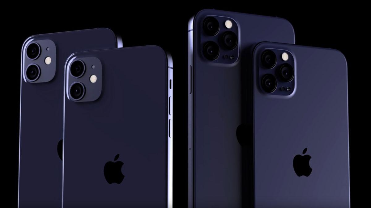 iPhone 12 Mockup Navy Blue