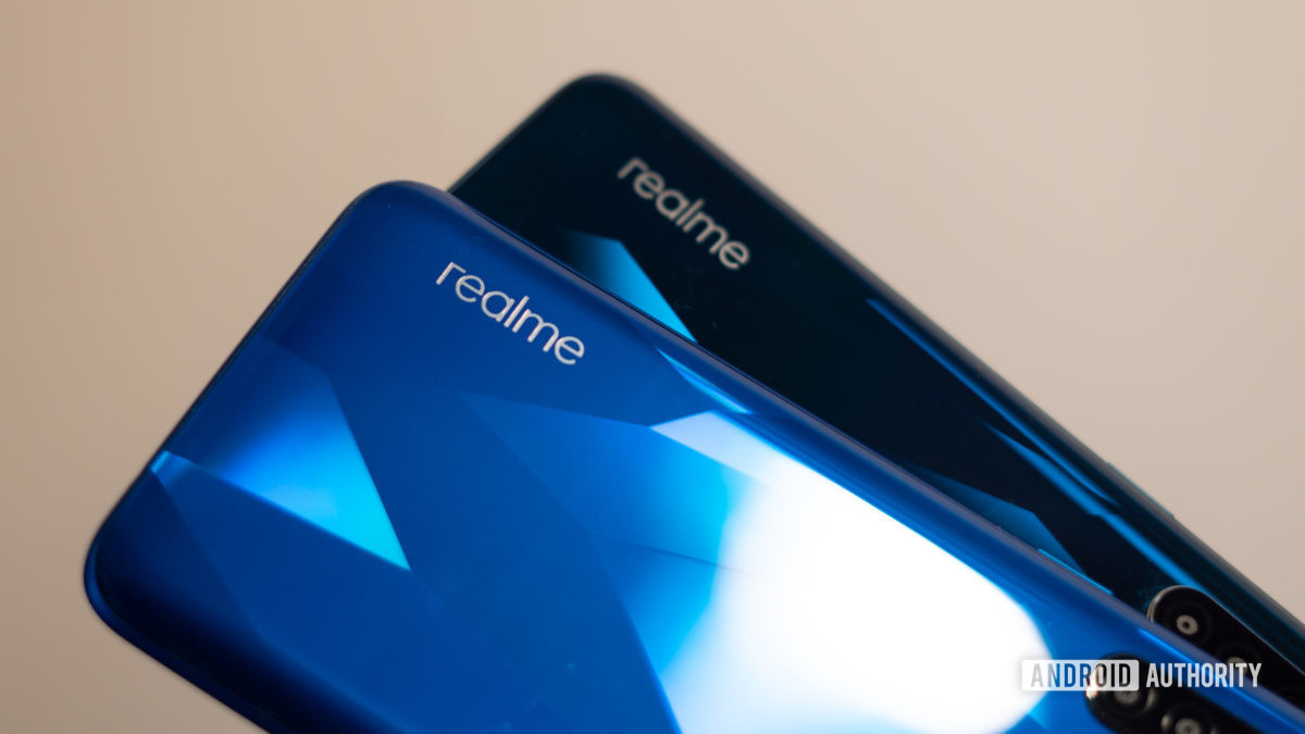 Realme branding on Realme 5 and 5 Pro - Who is BBK