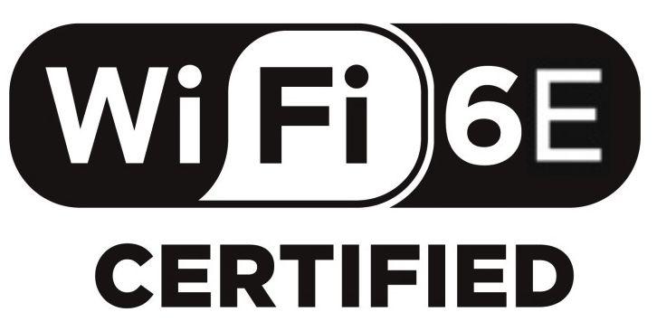 WiFi 6E certified logo