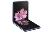 Samsung Galaxy Z Flip Leaked Render Unfolded
